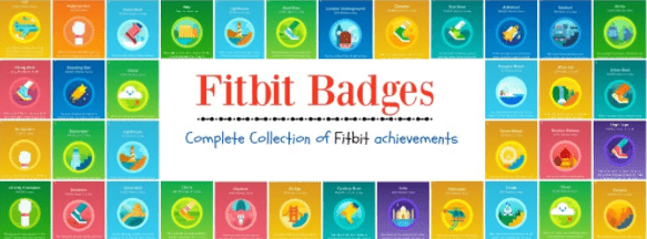 Fitbit Badges Complete Collection