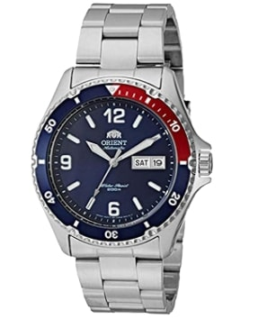 Orient Men's Mako II Japanese Automatic Stainless Steel Diving Watch